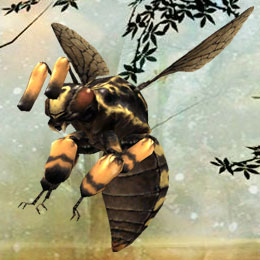 InfiniQuests monster depiction (Giant Bee)